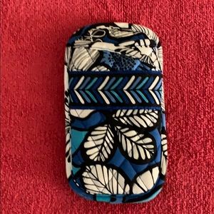 Vera Bradley Double Eye Case in Blue Bayou